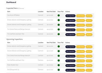 HiViz Asset Dashboard